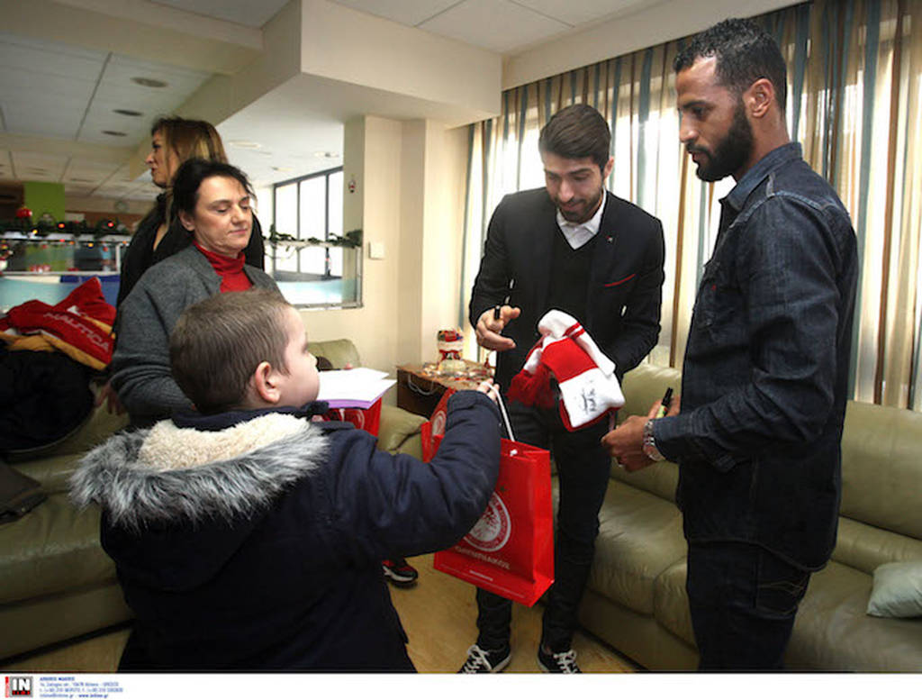 Στα παιδιά της Φλόγας, Stoiximan και ΠΑΕ Ολυμπιακός, μαζί για καλό σκοπό