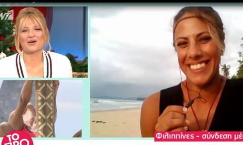 Nomads: Η Δήμητρα Φραντζή απαντά πρώτη φορά για τη σχέση της με τον Κατσινόπουλο