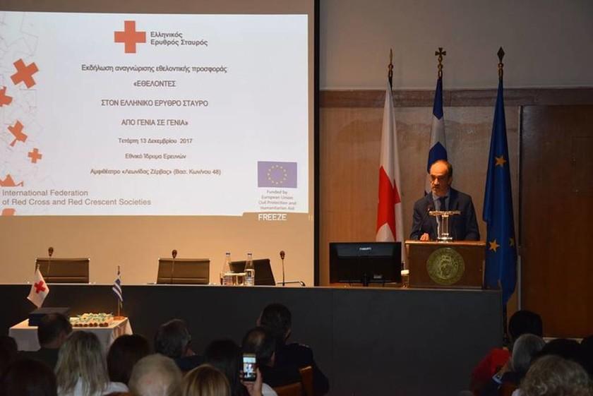Ο Επικεφαλής του Γραφείου της Διεθνούς Ομοσπονδίας ΕΣ και ΕΗ στην Ελλάδα, κ. Ruben Cano Revillas
