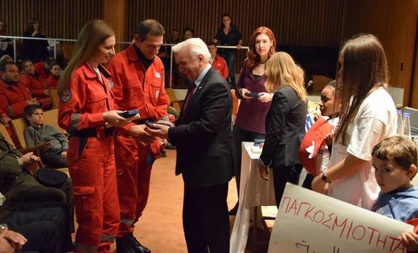 Εκδήλωση αναγνώρισης της εθελοντικής προσφοράς από τον Ελληνικό Ερυθρό Σταυρό
