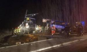 Τραγωδία στη Γαλλία: Αυξάνεται ο αριθμός των νεκρών από τη σύγκρουση σχολικού λεωφορείου με τρένο