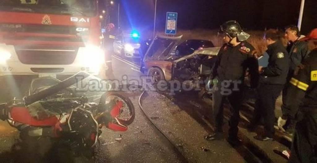 Νέες εικόνες σοκ από το τροχαίο με τους δύο νεκρούς στη Λαμία (ΠΡΟΣΟΧΗ – ΣΚΛΗΡΕΣ ΕΙΚΟΝΕΣ)