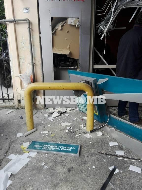Αποκλειστικές φωτογραφίες από την έκρηξη στο Νέο Ηράκλειο