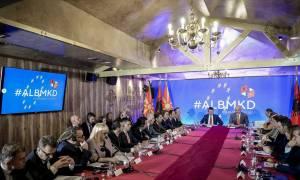 Οι κυβερνήσεις της Αλβανίας και των Σκοπίων συνεδρίασαν για πρώτη φορά μαζί