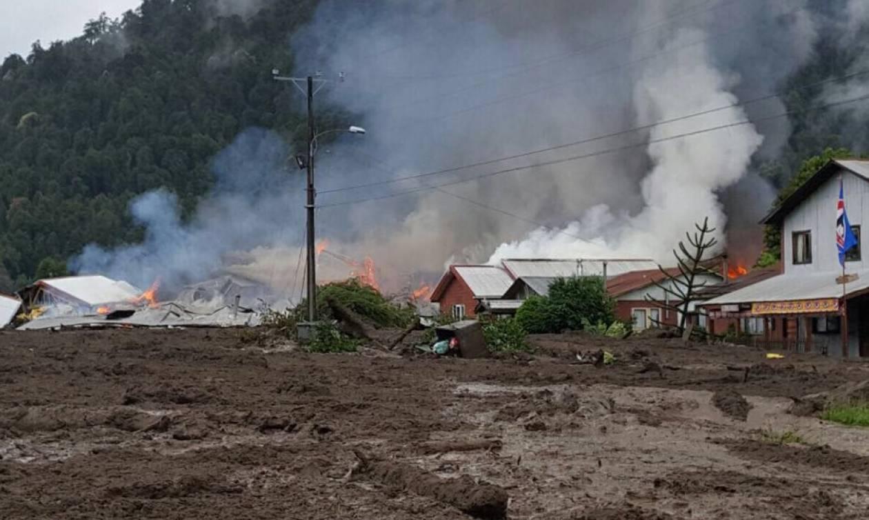 54ef658fd4 Τραγωδία στη Χιλή  Κατολίσθηση λάσπης «έπνιξε» ένα ολόκληρο χωριό - Δείτε  φωτογραφίες
