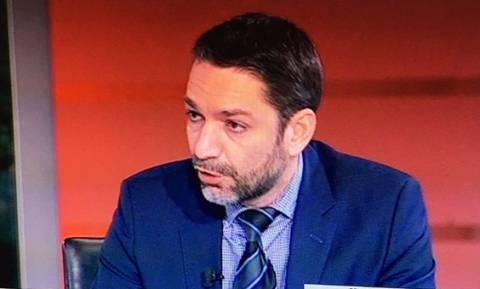 Πέθανε ο δημοσιογράφος Βασίλης Μπεσκένης - Θλίψη στην «οικογένεια» του ΣΚΑΪ