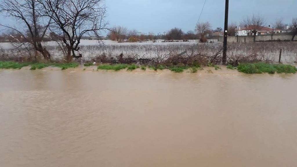 Κακοκαιρία: «Πνίγηκε» η Ροδόπη από τις καταρρακτώδεις βροχές