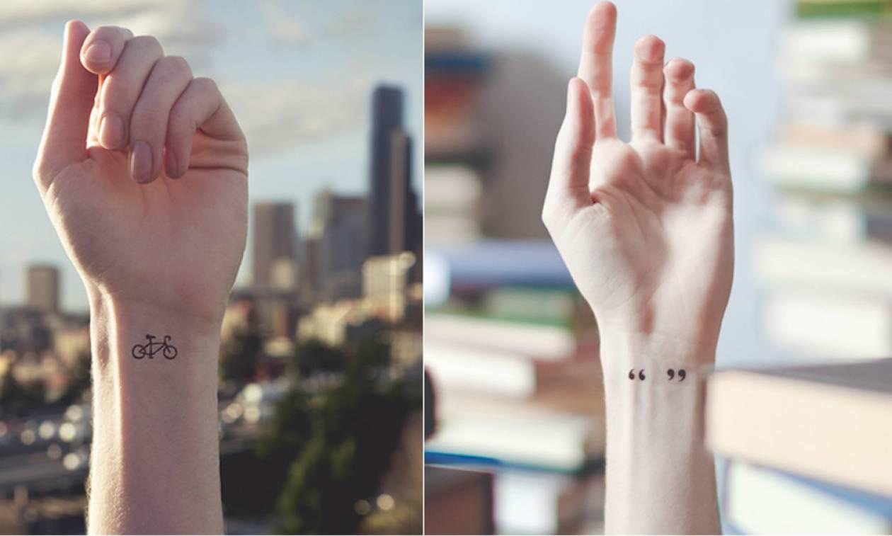 Τα καλύτερα σχέδια για μικρά τατουάζ! (pics)