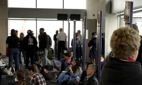 ΗΠΑ: Χάος από το ξαφνικό μπλακ άουτ στο αεροδρόμιο της Ατλάντα (vid)