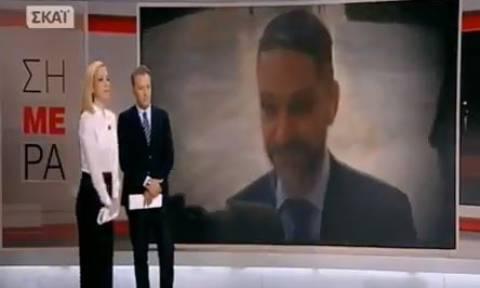 Βασίλης Μπεσκένης: Ξέσπασαν σε λυγμούς on air Οικονόμου - Αναστασοπούλου (vid)