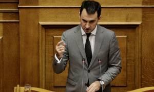 Βουλή – Χαρίτσης: Πάνω από 5,7 δισ. ευρώ οι επενδύσεις από το «πακέτο Γιούνκερ»
