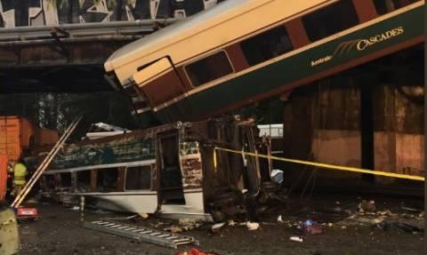 Εκτροχιασμός τρένου στη Ουάσινγκτον: Τι γνωρίζουμε μέχρι στιγμής
