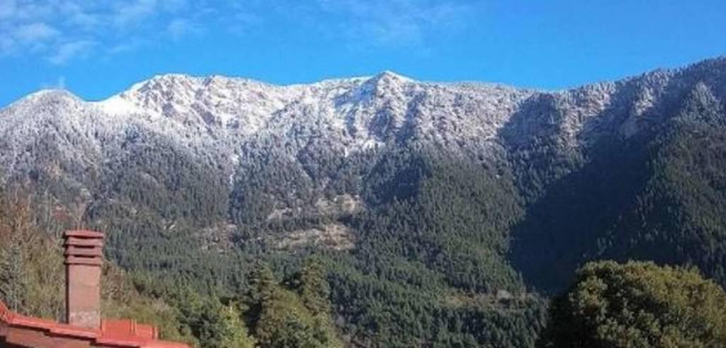 Χιόνια στην Ορεινή Ναυπακτία