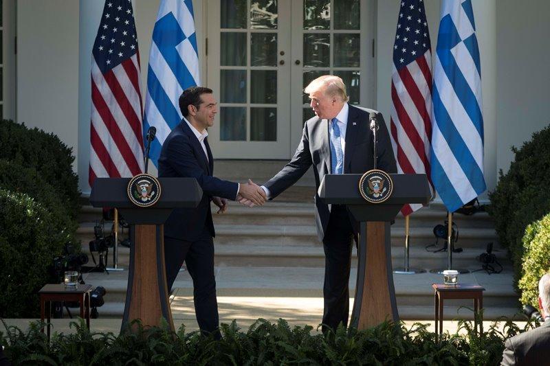 tsipras tramp