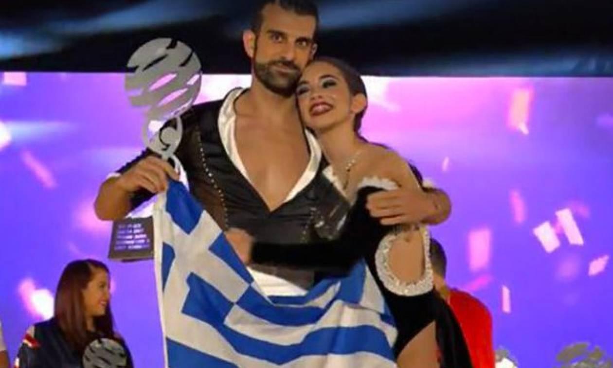 Στην κορυφή του κόσμου ζευγάρι χορευτών από τα Χανιά! (video)