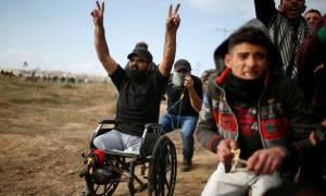 Σοκ στον ΟΗΕ από τη δολοφονία ανάπηρου Παλαιστίνιου από Ισραηλινούς στρατιώτες (ΣΚΛΗΡΕΣ ΕΙΚΟΝΕΣ)