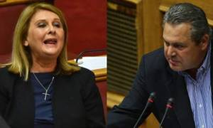 Προϋπολογισμός 2018: «Πλακώθηκαν» Βούλτεψη - Καμμένος στη Βουλή