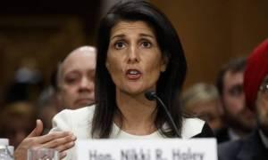 Χέιλι: Οι ΗΠΑ εξετάζουν την επιβολή κυρώσεων στο Ιράν