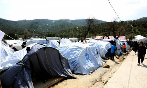 Μυτιλήνη: Μεγάλη αστυνομική επιχείρηση στον καταυλισμό της Μόριας