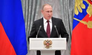 Ο Πούτιν κήρυξε το τέλος της ύφεσης στη Ρωσία