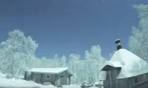 Εντυπωσιακό βίντεο: Μετεωρίτης έκανε τη νύχτα μέρα!