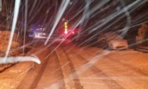 Καιρός: Έφτασε τα 40 εκατοστά το χιόνι στο Πήλιο - Παραμένουν ανοιχτοί οι δρόμοι