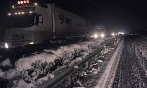 Καιρός Αττική LIVE: Διακοπή κυκλοφορίας φορτηγών στην Εθνική Αθηνών – Λαμίας