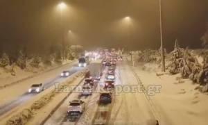 Καιρός LIVE: Εκατοντάδες οδηγοί εγκλωβισμένοι στην Αθηνών - Λαμίας - Πού υπάρχουν προβλήματα
