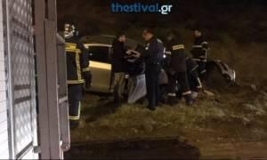 Θεσσαλονίκη: Σφοδρή σύγκρουση αυτοκινήτων στο Δερβένι