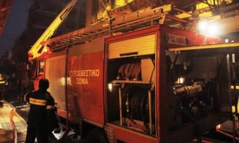 Θεσσαλονίκη: Πυρκαγιά σε μονοκατοικία στη Σίνδο