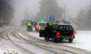 Κακοκαιρία: Ποιοι δρόμοι είναι κλειστοί – Πού χρειάζονται αλυσίδες