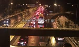 Εθνική Οδός Αθηνών - Λαμίας ΤΩΡΑ: Χωρίς προβλήματα η κυκλοφορία