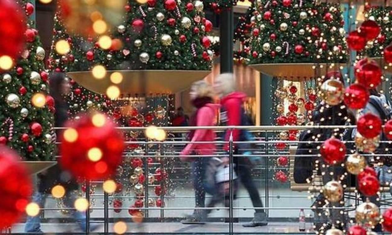 Παραμονή Χριστουγέννων: Έτσι θα λειτουργήσουν τα εμπορικά καταστήματα - Δείτε το ωράριο
