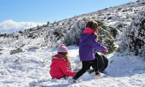Με ηλιόλουστο καιρό τα Χριστούγεννα - Πότε θα σημειωθεί επιδείνωση (pics)