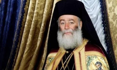 Ευχές για την ανάκαμψη της Ελλάδας από τον Πατριάρχη Αλεξανδρείας