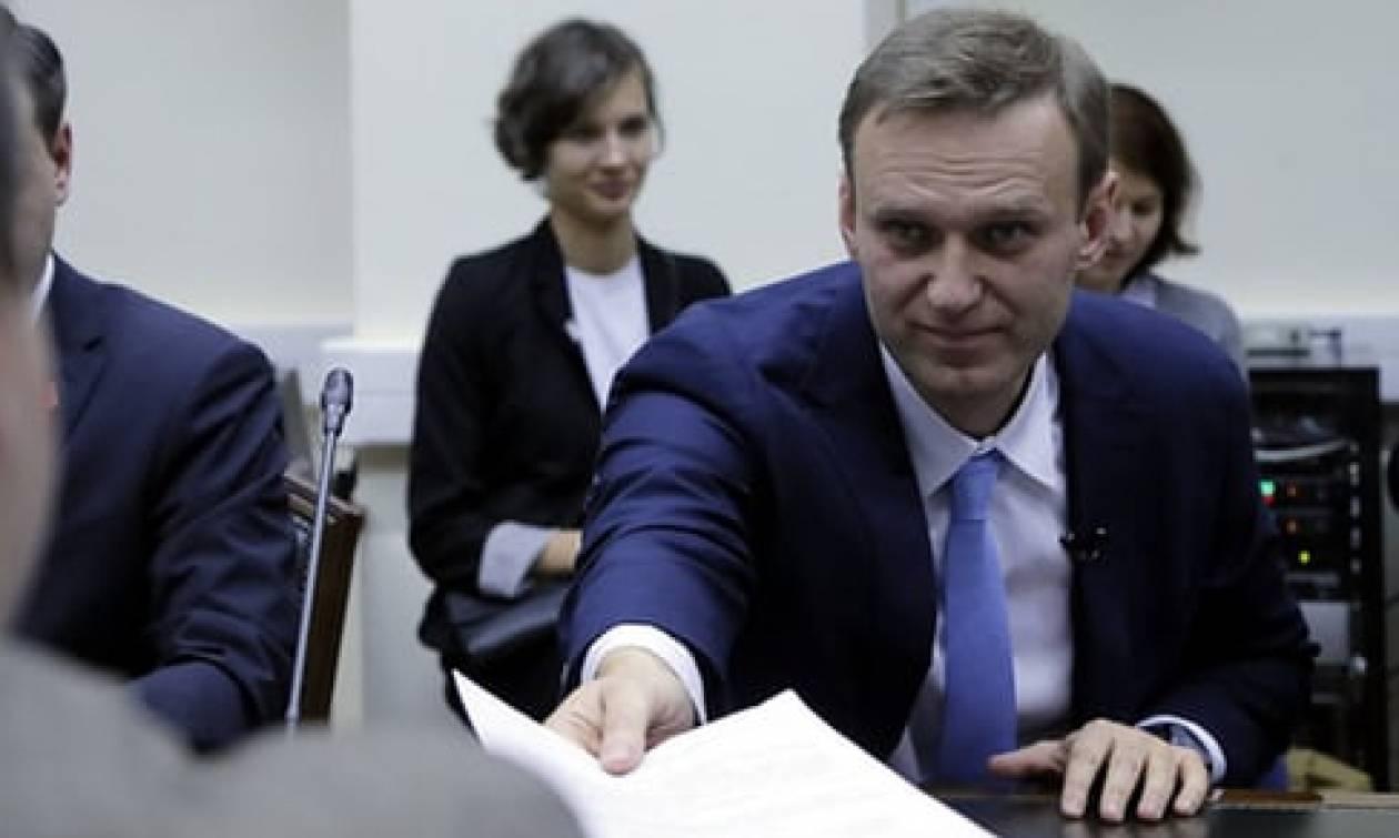 Ρωσία: Εκτός προεδρικών εκλογών ο Αλεξέι Ναβάλνι