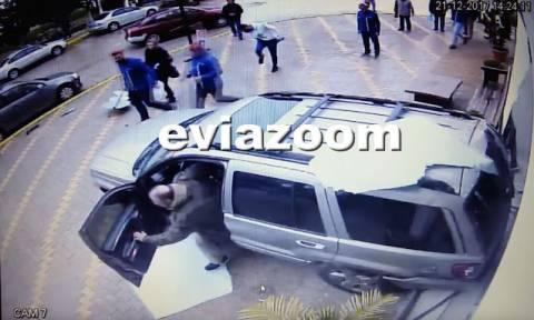 Βίντεο ντοκουμέντο: Έκανε όπισθεν και «μπούκαρε» σε κατάστημα