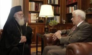 Παυλόπουλος: Σημαντικό βήμα η χορήγηση της Αλβανικής ιθαγένειας στον Αρχιεπίσκοπο Αναστάσιο