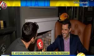 Κωνσταντίνος Αγγελίδης: Η συνέντευξή του λίγες ημέρες πριν το τροχαίο