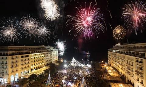 Θεσσαλονίκη: Φαντασμαγορική Πρωτοχρονιά με περισσότερα από 5.000 πυροτεχνήματα