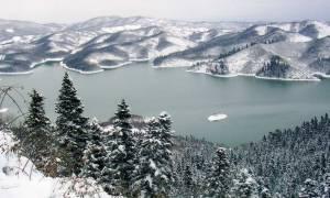Τρίκαλα: «Βούλιαξαν» Χιονοδρομικό Κέντρο Περτουλίου και Λίμνη Πλαστήρα