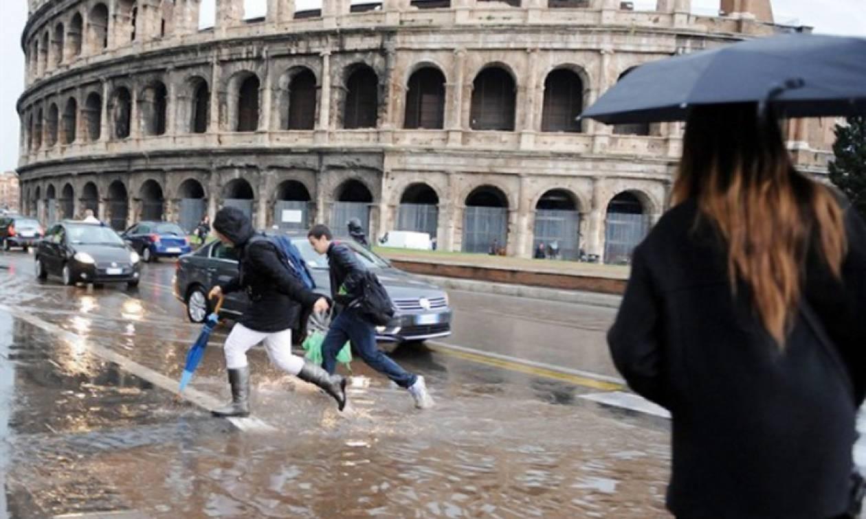 Ρώμη όπως λέμε… Βενετία: Σφοδρή κακοκαιρία πλήττει μεγάλο μέρος της Ιταλίας