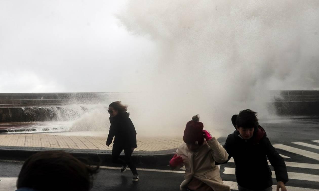 """Η φονική καταιγίδα """"Bruno"""" έπληξε την Ισπανία (pics)"""