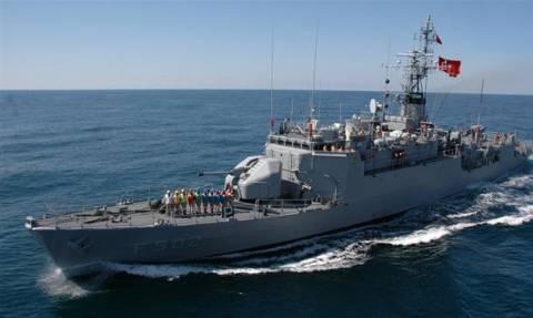 Συναγερμός στο Αιγαίο: Τουρκικό πολεμικό πλοίο στον Καφηρέα - Δίπλα του η φρεγάτα «Έλλη»