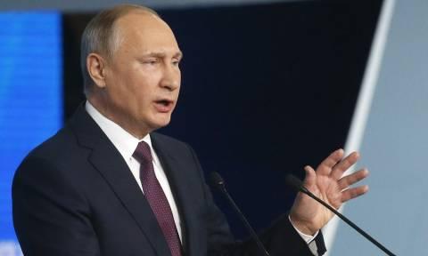 Πούτιν: Τρομοκρατική ενέργεια το χτύπημα στο σούπερ μάρκετ της Αγίας Πετρούπολης