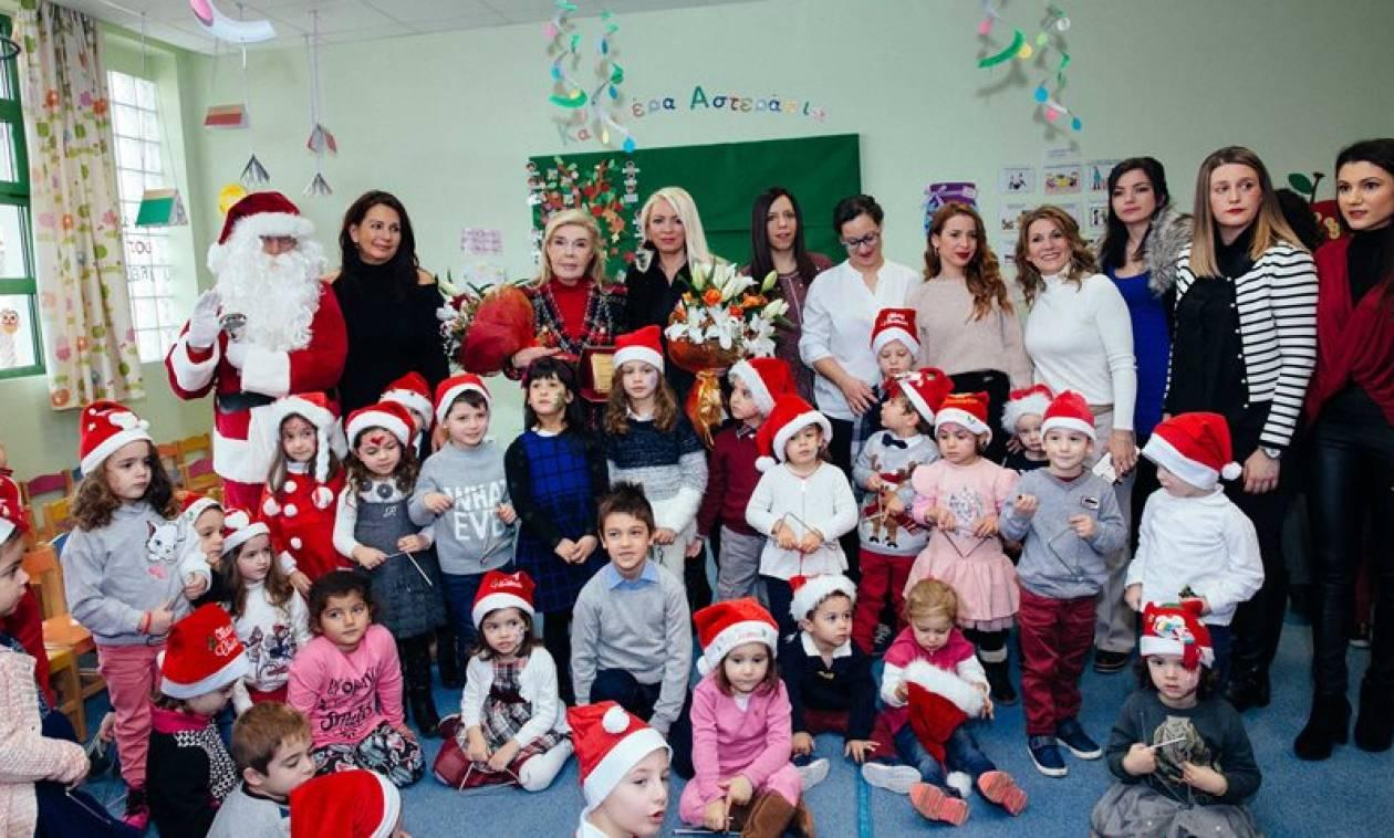 Παραδόθηκε ανακαινισμένος ο 2ος Παιδικός Σταθμός στη Μάνδρα Αττικής (pics)