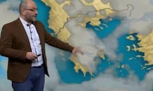 Η εκτίμηση του Σάκη Αρναούτογλου για τον καιρό του Γενάρη με κρύο και χιόνια (photos)