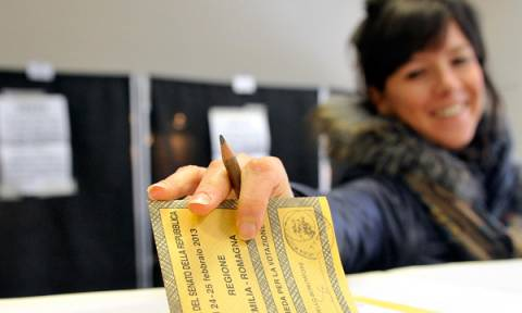 Αυτή είναι η ημερομηνία των βουλευτικών εκλογών στην Ιταλία