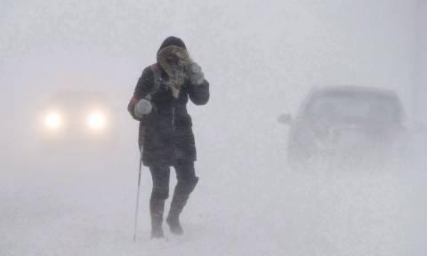Πολικό ψύχος στον Καναδά: Το θερμόμετρο έδειξε τους μείον 40 – Χιονίζει παντού (Vid)