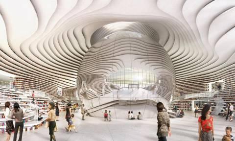 Αυτό είναι το «Μάτι», η πιο θεαματική βιβλιοθήκη στον κόσμο (Pics)